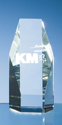 Optical Crystal Hexagon Award
