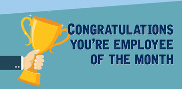 Congratulations You Are Employee Of The Month